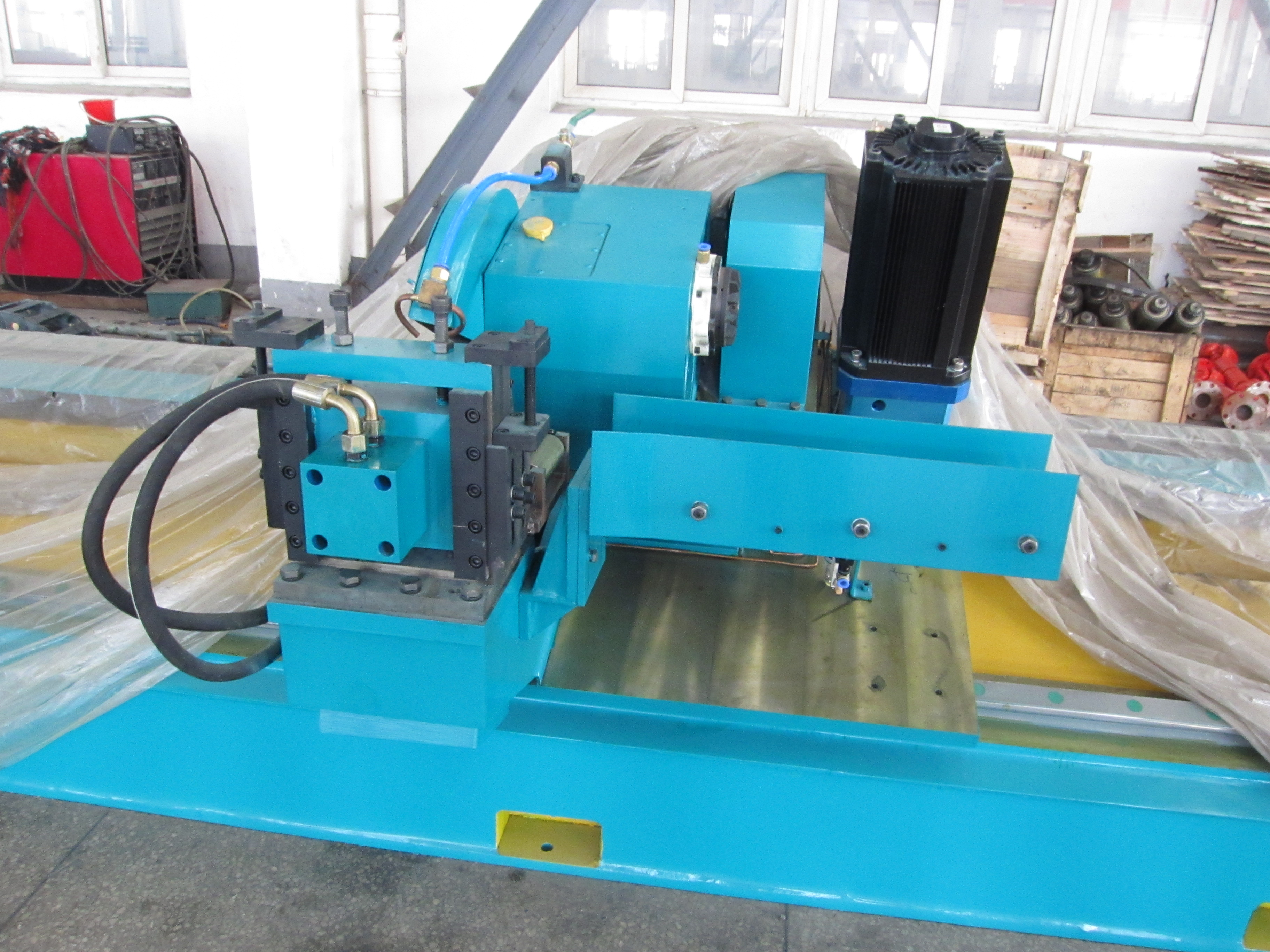 cold saw for the pipe welding machine