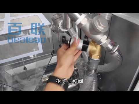 Clean pneumatic valve of down filling machine