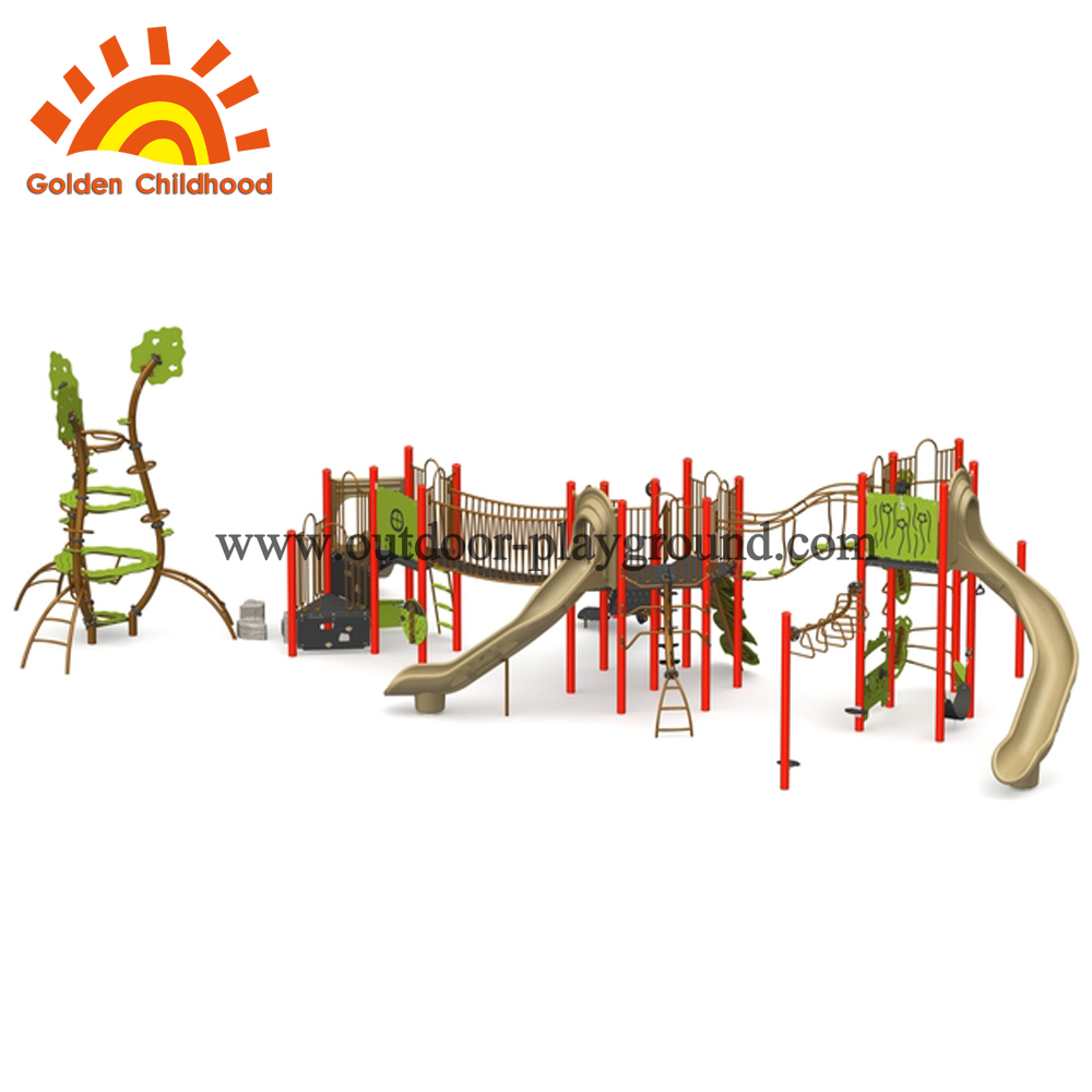 Play Equipment Rope Climbing