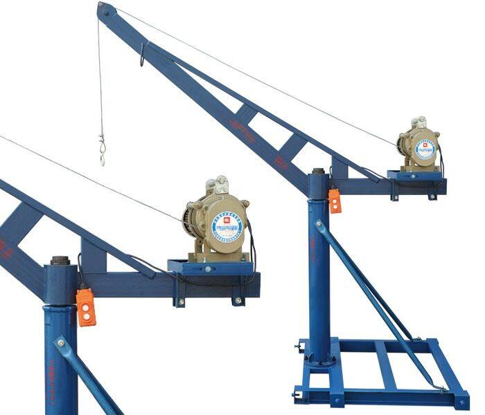 Outdoor Mini Crane Application