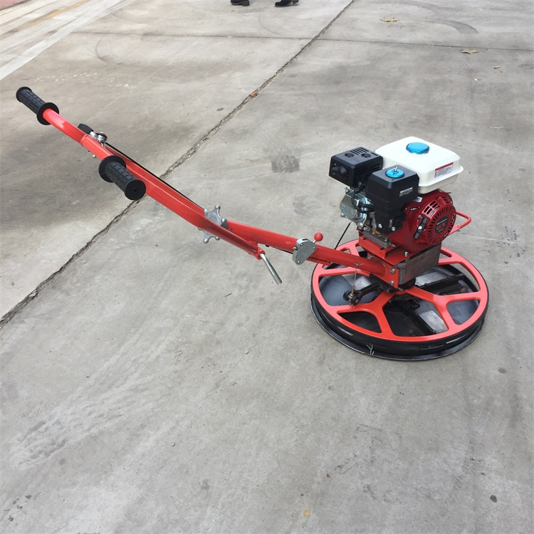 gasoline concrete power trowel machine