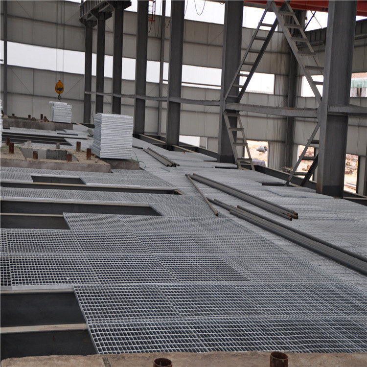 Steel Grating Pipeline Platform