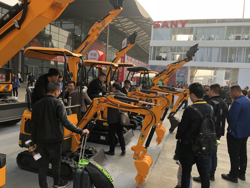 Bauma China exhibition