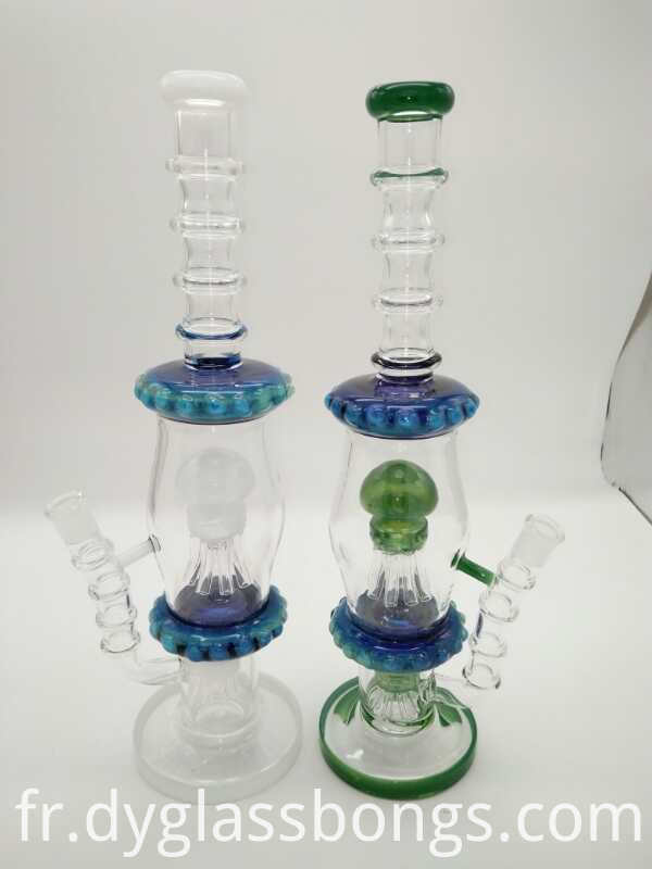 Sprial Coil Glass Water Pipes