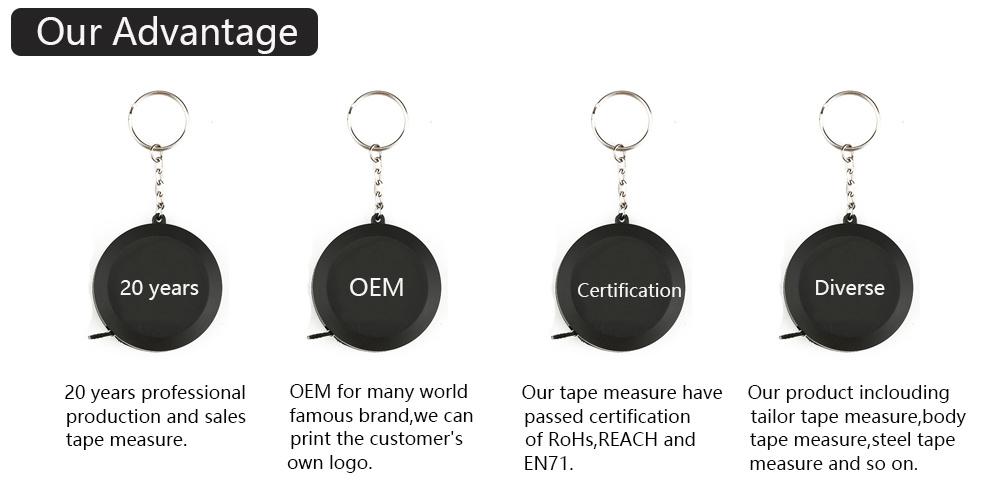 Custom metal plating wholesale aluminum stamping Metal Measurement Tool Belt Clip