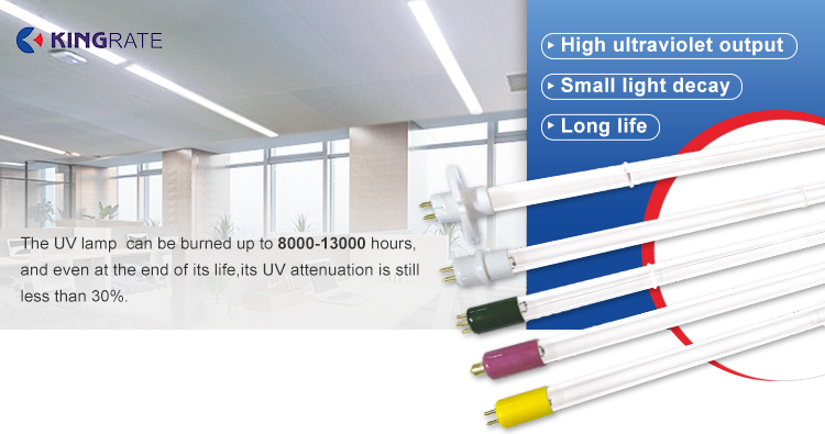 6W Semi Submersible UVC Lamp For Water Disinfection