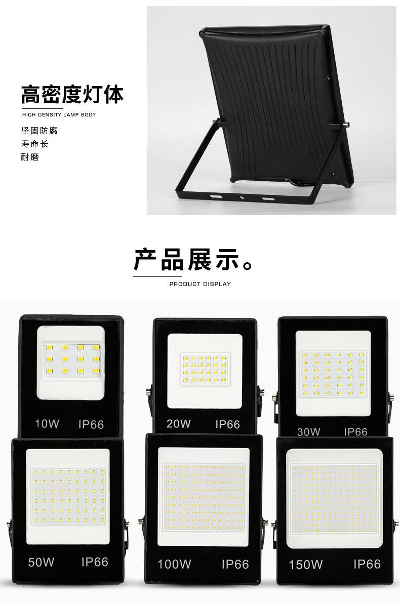Projecteur LED 220V 3