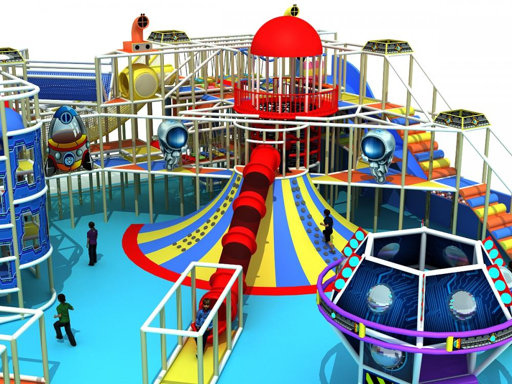 Imagine World Amusement Indoor Play Space For Kids