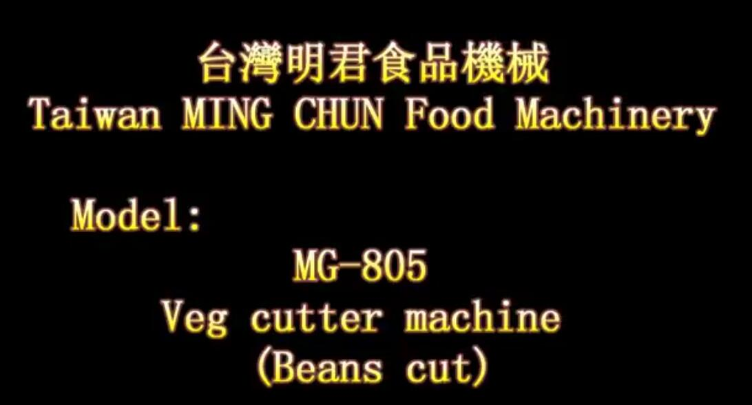MG 805 Veg cutter machine Beans cut