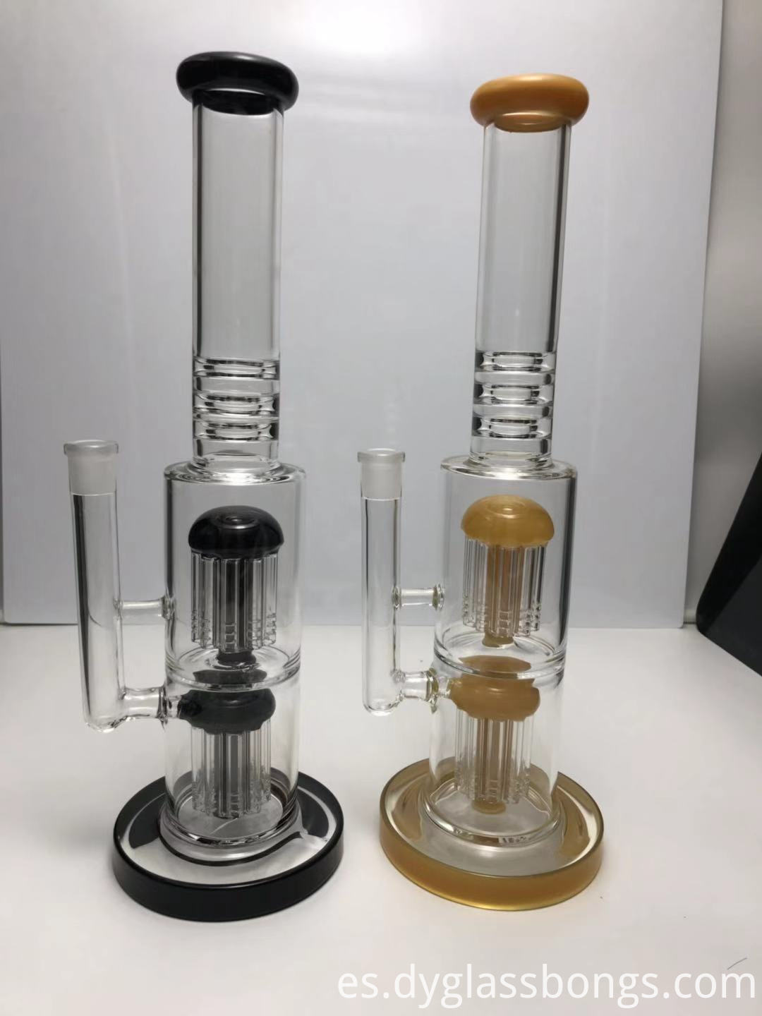 different types of glass bongs