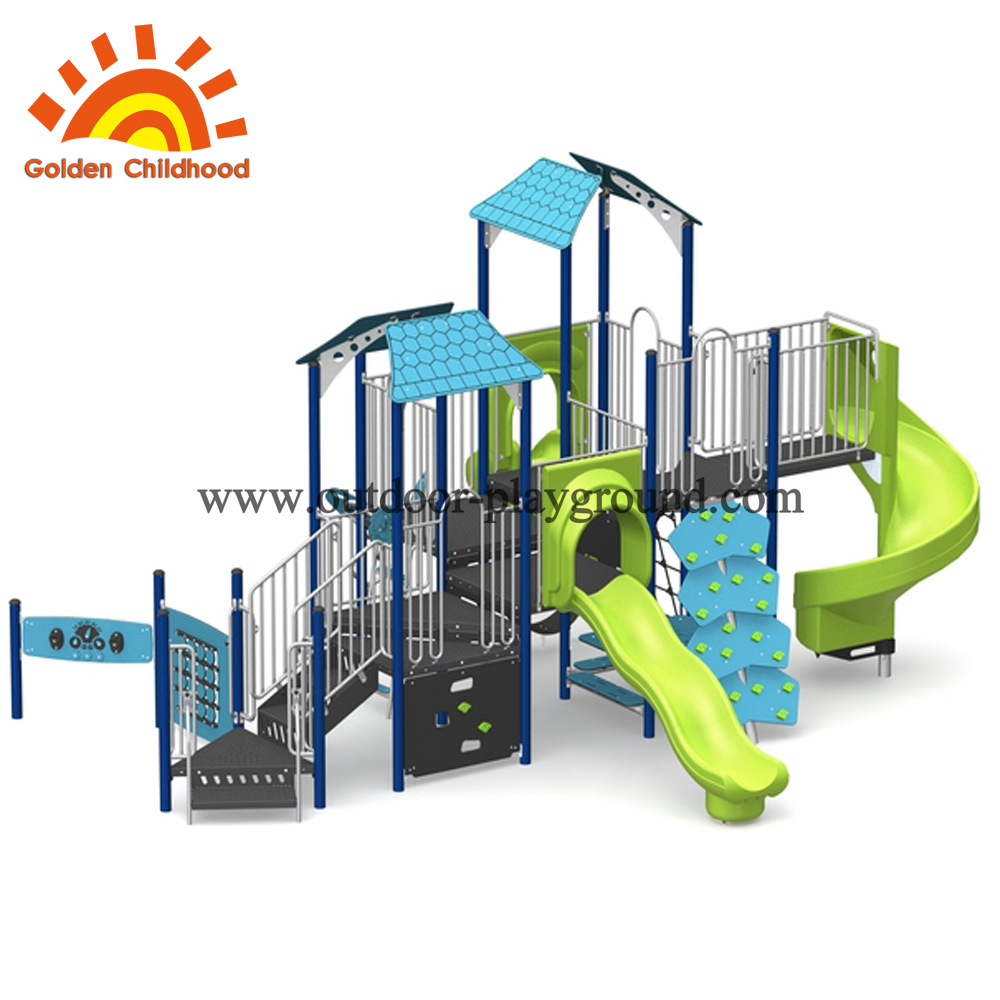 Series Play Structure Kindergarten Ground
