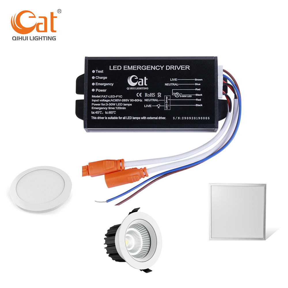 panel led emergency kit