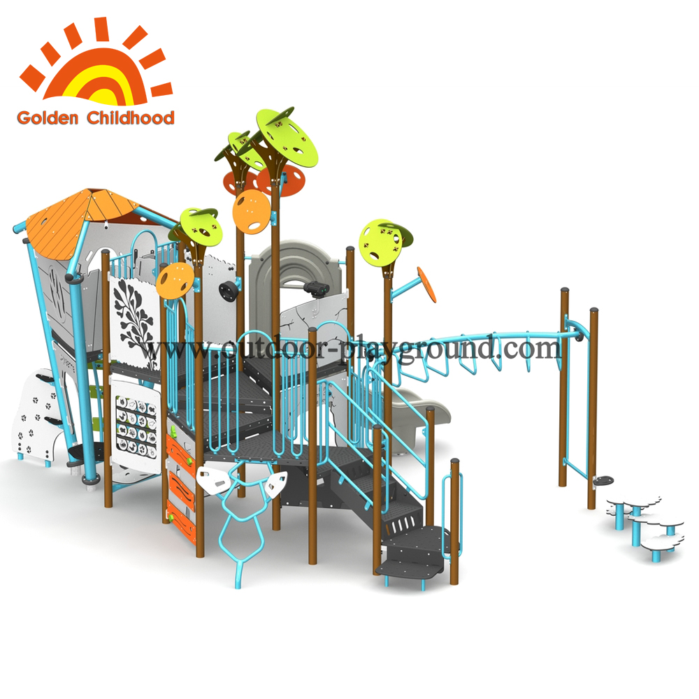 mutifuntion outdoor play structure