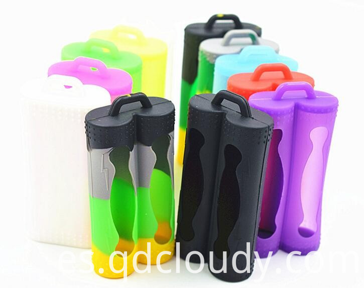 Silicone 18650 Battery Case