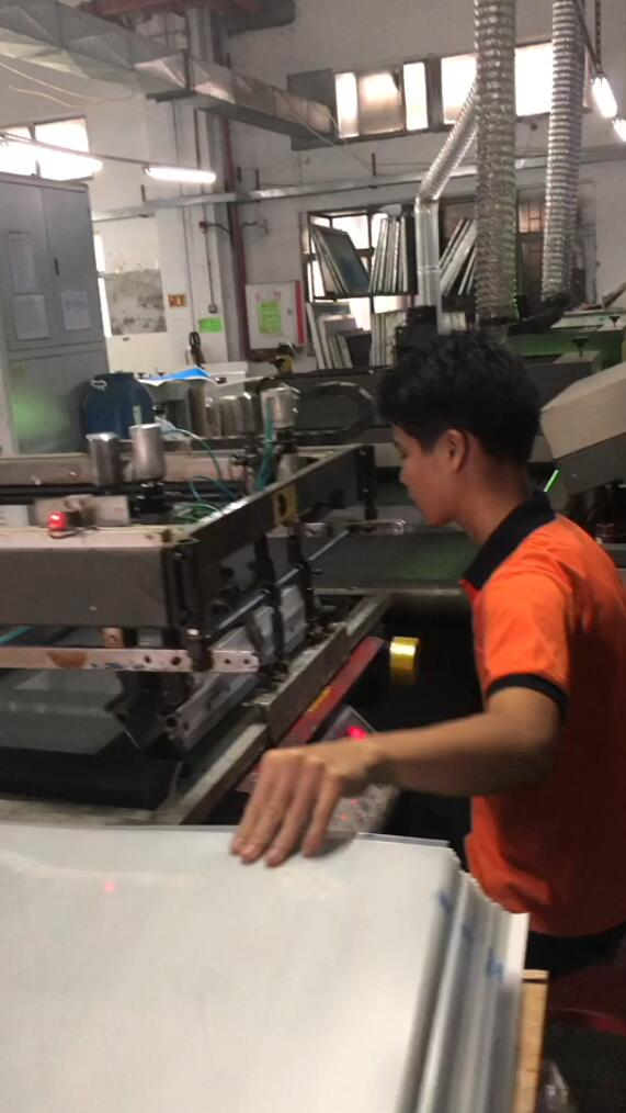 Automatic printing machine for paper gift box