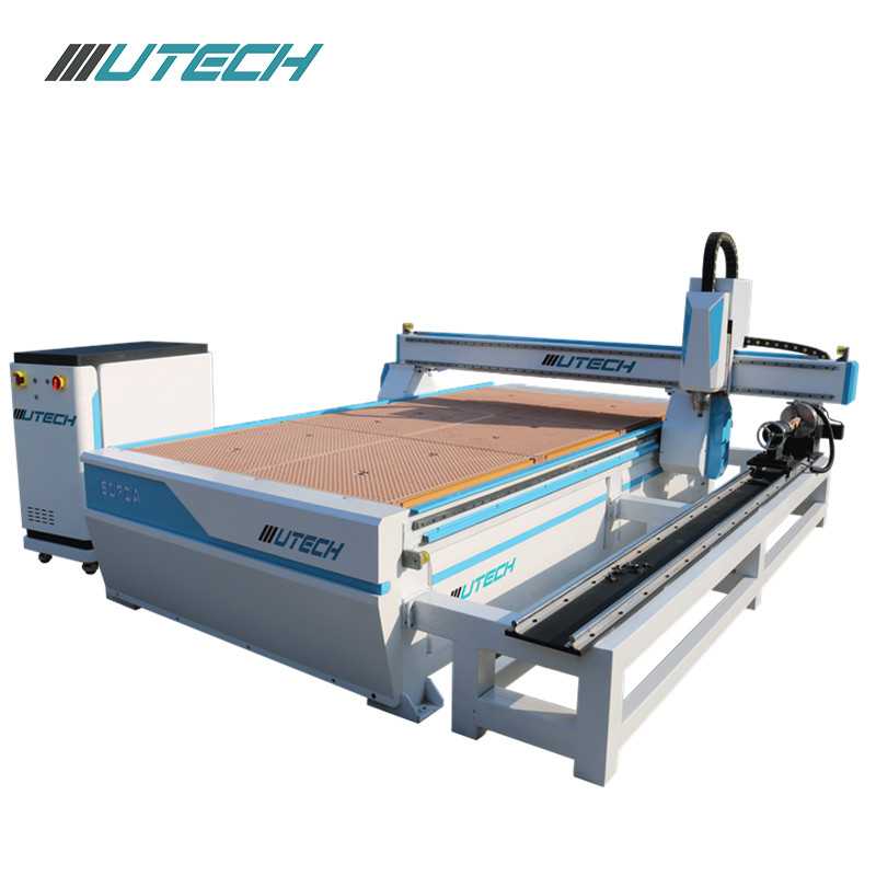 SOFIA Series---3D ATC Cnc Router with linear auto tool changer and rotary for processing wood MDF plywood acrylic etc