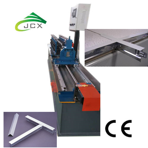 suspended tee grid ceiling forming machine
