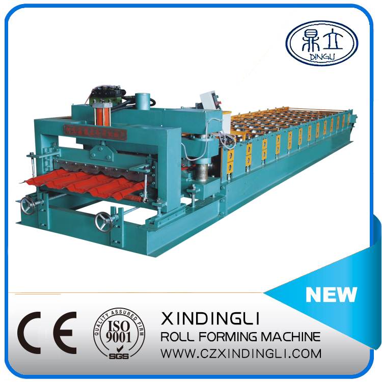 840 colored glazed roll forming machine