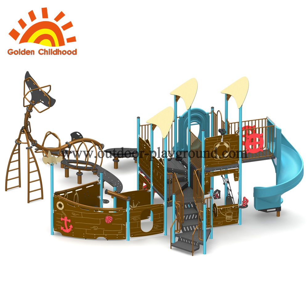 quality castle outdoor play gym