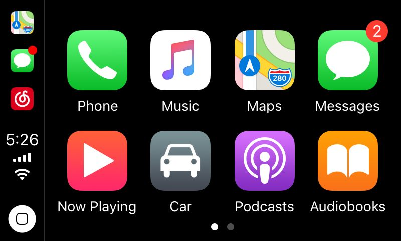 Android car DVD built in Apple Carplay