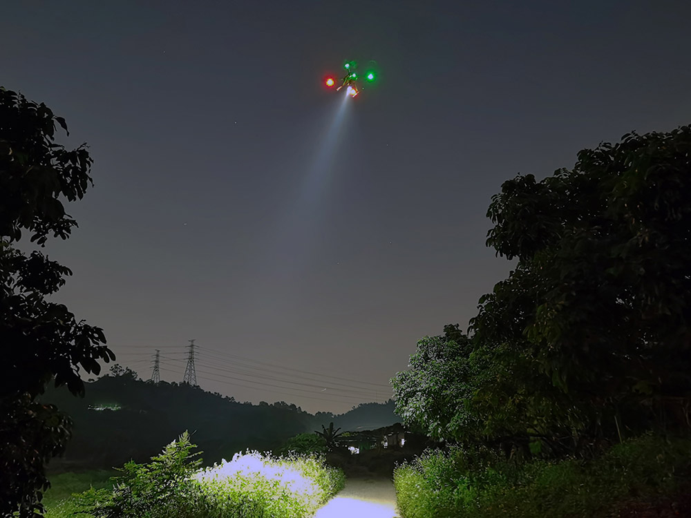 JMRRC Searching Light For Drone 10000lm