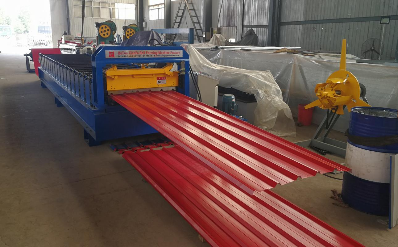 High speed roof tile production equipment