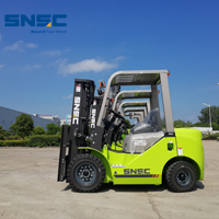 4pcs SNSC 2.5 ton new diesel forklift to Africa~
