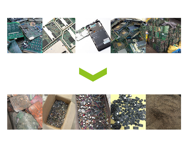 E Waste Computer TV Pcb Board Scrap Separator Machines
