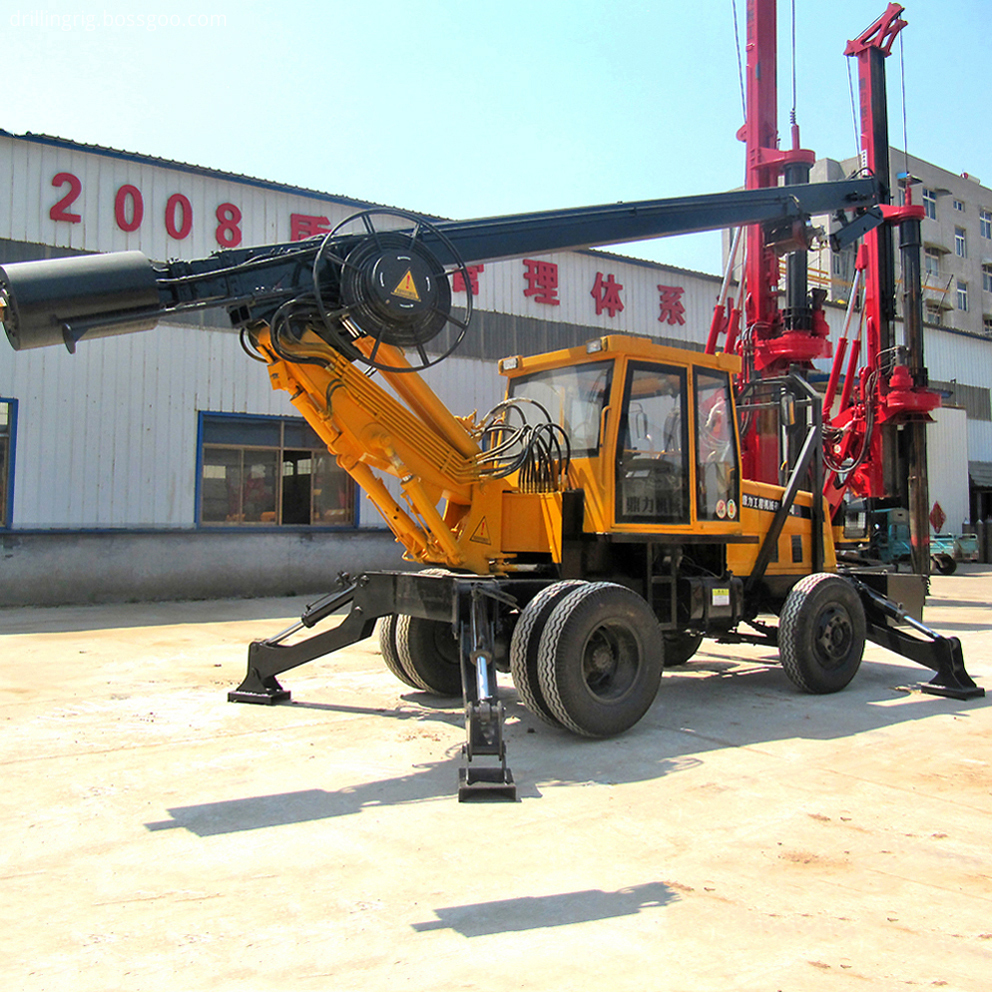 Diesel Water Well Drilling Rig