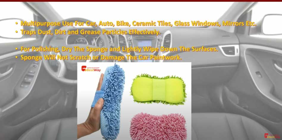 Microfibre Car Wash Sponge