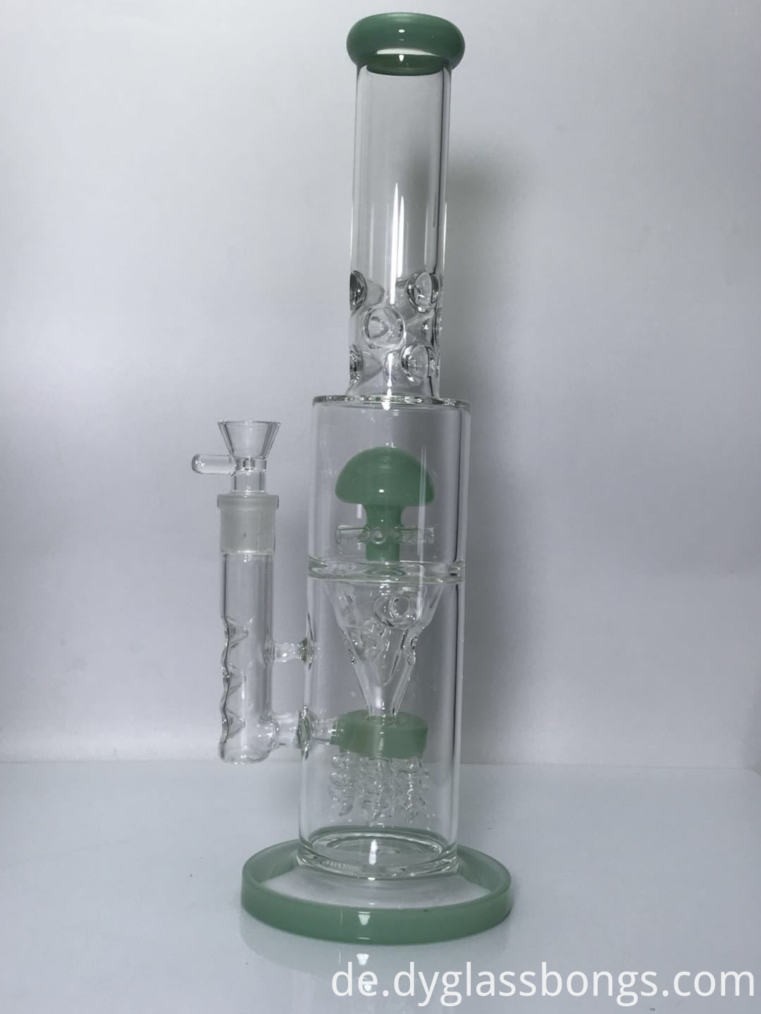 16 inch two bubbler hookahs with 18mm bowl