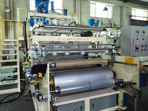 Three Screws 5 layers PE Cast Cling Film Machine