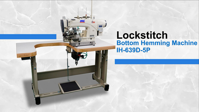 IHG IH-639D-5P Direct Drive Lock Stitch Bottom Hemming Machine