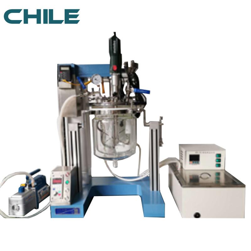 Lab Vacuum Homogenizer with Emulsifier