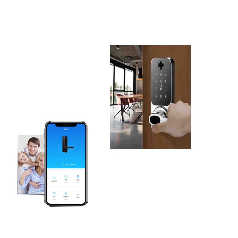 China Supplier Automatic Security Smart Door Password Fingerprint Lock For Home