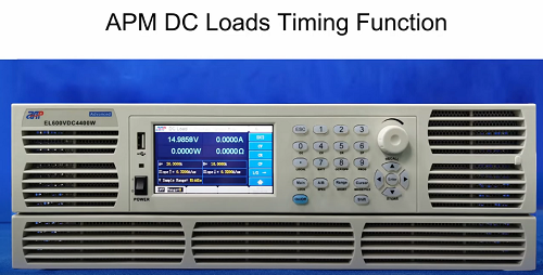 APM DC Loads Timing Function