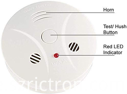 smoke and co combine detector