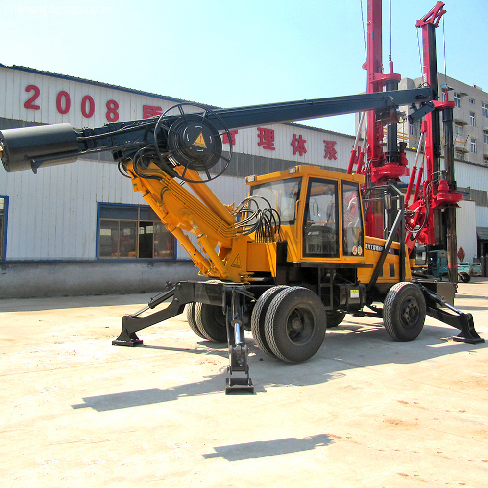Square Rod Drilling Rig Machine