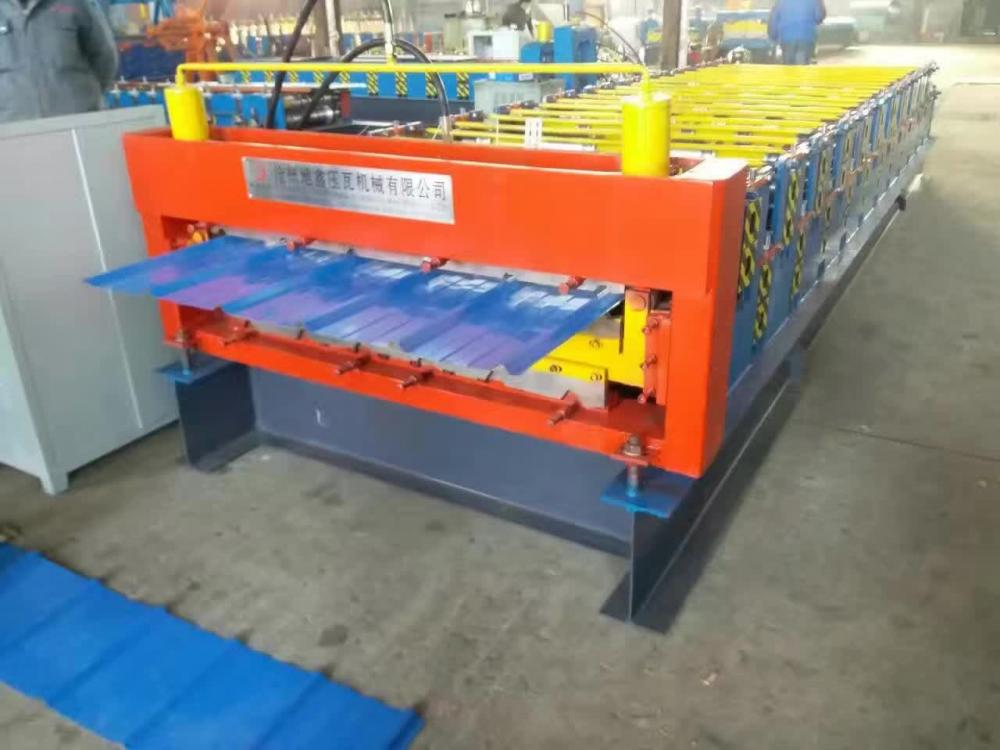 Double Layer Forming Making Machine