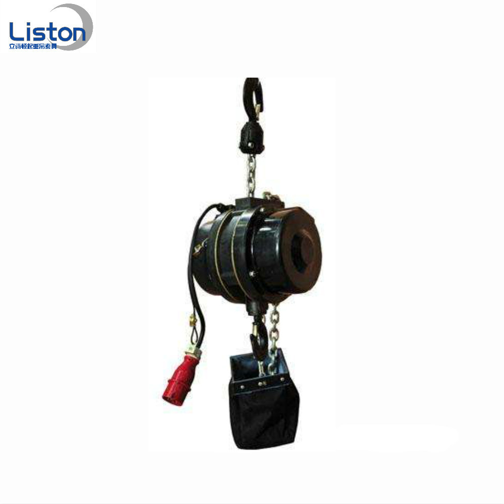 Stage electric hoist application