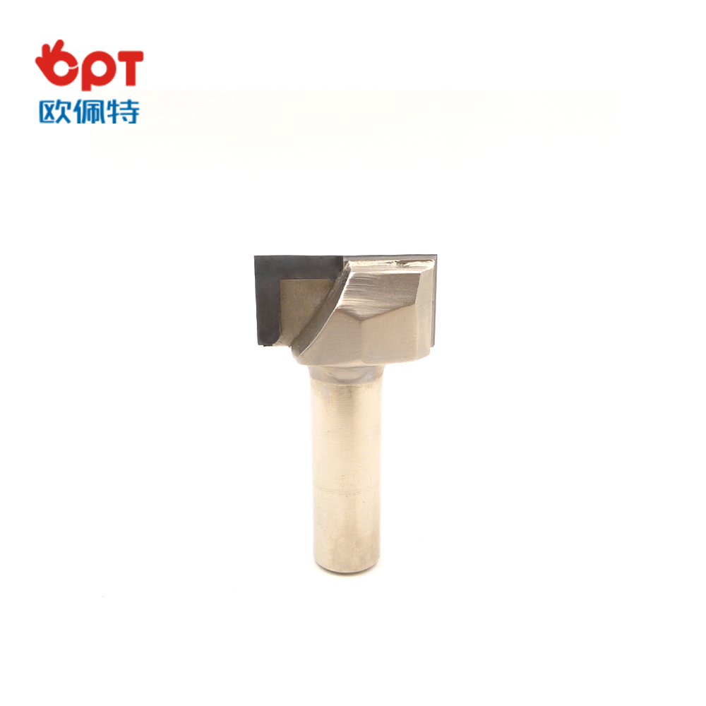 PCD router bit for edge forming