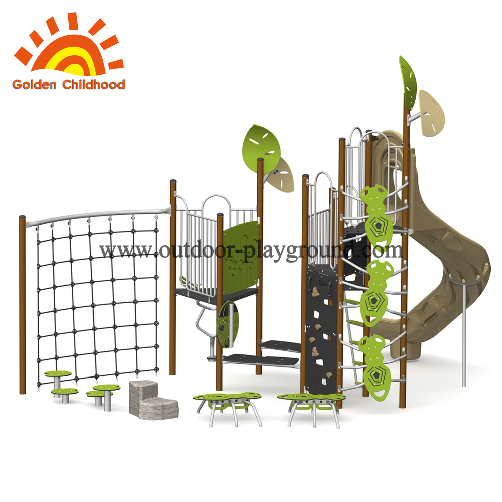 Fantastic outdoor play structure