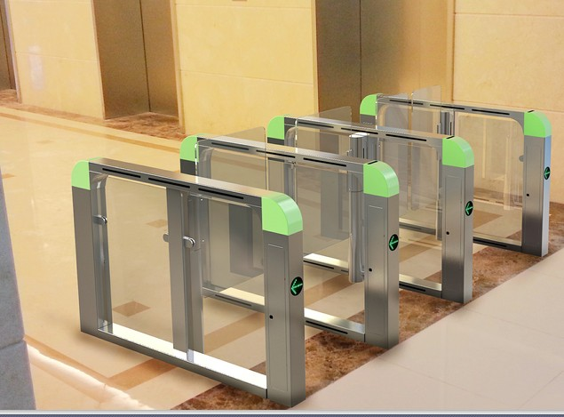 Glass Turnstile Test