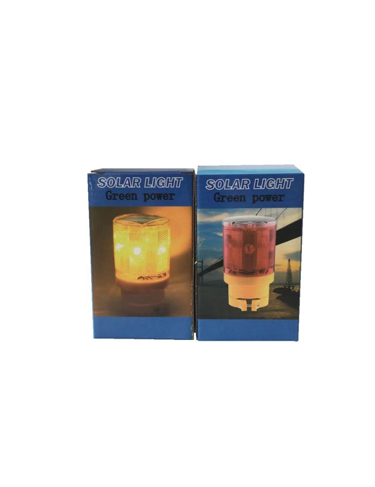 LED Solar Warning Light Flashing Warning Lights