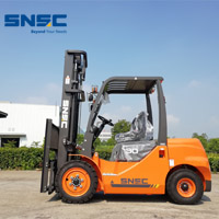 SNSC 3t diesel forklift with 6m height for Kazakhstan