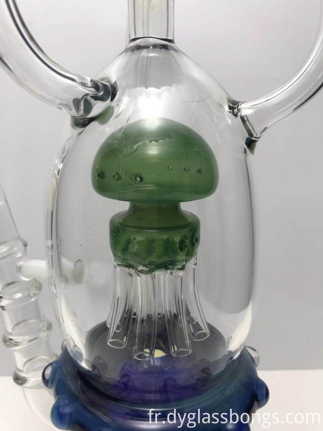 Two 8-Arm Sprinklers Recycler glass bong3