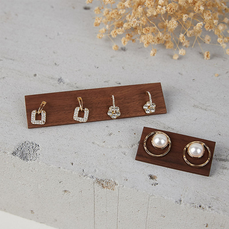 wooden Commercial Jewelry Display