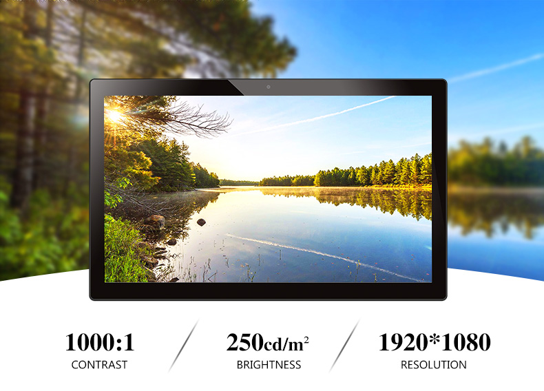 15.6 inch touch panel pc
