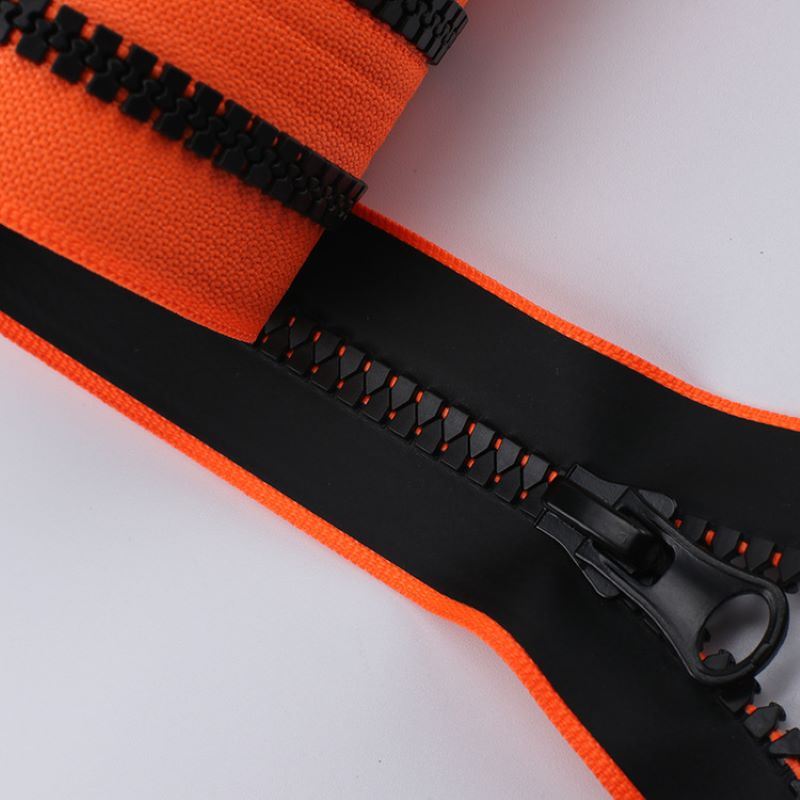 Polyester zippers for bag
