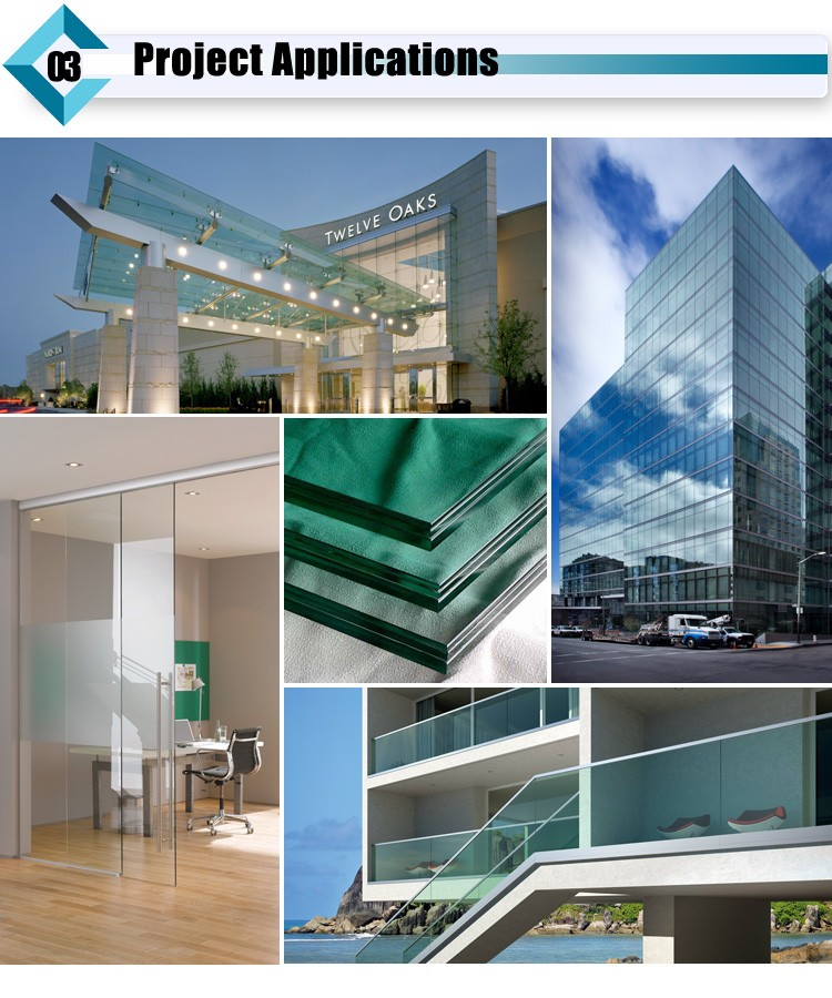 Laminated glass application